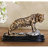 TiedRibbons Tiger Showpiece Decoration Handicraft Animal Showpiece Statue Figurines Collectibles Items For Drawing Room Living Room Office Bed Room Garden Home Decor And House Warming Gifts
