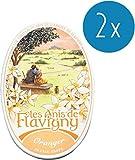 Les Anis de Flavigny - Anisbonbons Orangenblüte (Oranger) 2er Pack