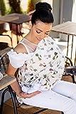 ComfortBaby - Asciugamano da allattamento 5 in 1 (Made in EU - Oeko Tex 100 Standard)