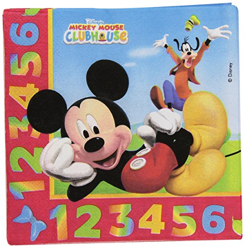 mickey-mouse-pack-de-20-servilletas-33-x-33-cm-color-baby-71772-4605