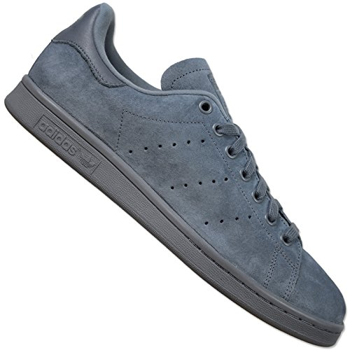 adidas-originals-stan-smith-vintage-grey-suede-leather-unisex-sneakers-shoes