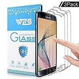 [Lot de 3] Verre Trempé Galaxy S7,WZS® Film Protection en Verre trempé écran Protecteur Vitre pour Samsung Galaxy S7 Anti Rayures - Sans Bulles D'AIR -Ultra Résistant Dureté 9H Glass Screen Protector
