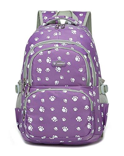 Keshi Nylon Cool Damen accessories hohe Qualität Einfache Tasche Schultertasche Freizeitrucksack Tasche Rucksäcke Lila