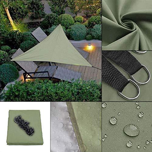 Fantiff 9.8ft Sonnenschutz Segel Canopy Triangle Sand, Schatten Segel UV-Block für Patio Garden Outdoor-Anlage und Aktivitäten -
