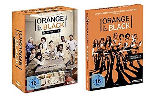 Orange is the New Black Staffel 1-5 (1+2+3+4 Box + 5 ) [25 DVDs]