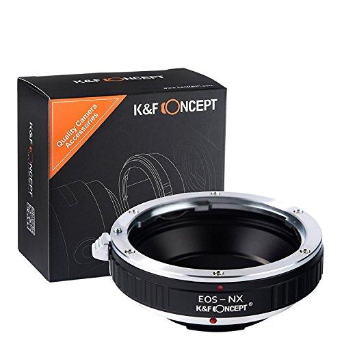 K&F Concept & Berlin Optix Canon EOS EF Objektiv Adapter Samsung NX NX1 NX5 NX10 NX20 NX30 NX11 NX100 NX200 NX210 NX300 NX300M NX1000 NX1100 NX2000 NX3000 NX3300 Galaxy lens camera Kamera Kameras