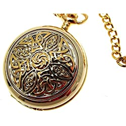 Gold Pocket Watch Quartz Pocket Watch Pocket Watches For Men Design 8