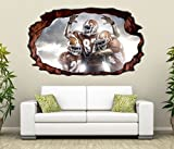 3D Wandtattoo American Football Touchdown