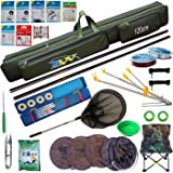 Micro-carp Rod 2/8-along tool kit fishing rod fishing rod 6.3 metres + 7.2 metres, dressed in Deluxe version 3.9 m + 4.5 m