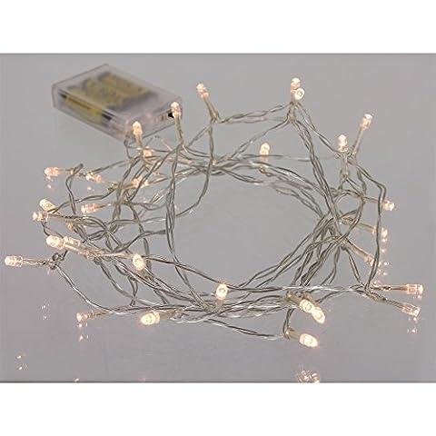 30er LED-Lichterkette WARM WHITE