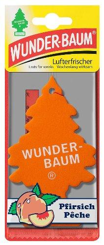 Wunderbaum 178226 Pfirsich, 3-er Pack (Baum Auto Lufterfrischer)