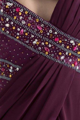 Lemandy - Robe - Sans Manche - Femme 40 Violet
