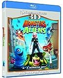 Monsters Vs Aliens 3D (Blu-ray 3D + Blu ray + DVD) [2009]