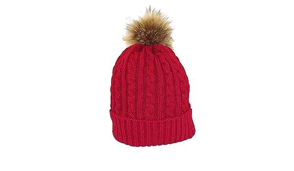 Chapeau,tendance , Bonnet rouge pompon , , Mixte Amazon.fr Vêtements et  accessoires