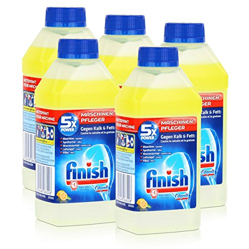 Calgonit Finish Spül-Maschinen-Pfleger Citrus 5xPower 250ml (5er Pack)