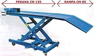 Ponte sollevatore per moto portata kg 360 auto for Ponte per auto usato