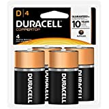 DURACELL MN1300R4 D Cell 4-Count by Duracell (English Manual)