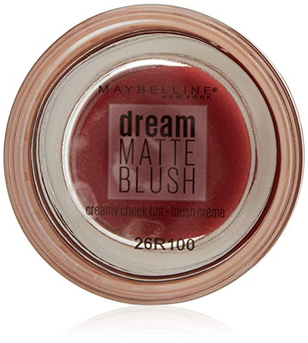 Maybelline New York Dream Matte Blush, Nr. 80 Bit of Berry, 1er Pack (1 x 6 g) (Matte Creme Blush)