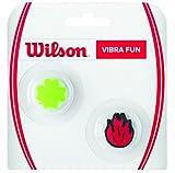 Wilson Fun N Clover Flame Amortiguador Raquetas-Unisex, Adulto, NS