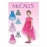 McCall's Patterns MC7077CL Patron de robe pour fille...