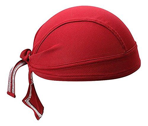 Bandana per adulti fasce bandana estiva ciclismo per attività sportiva berretti copricapo da corsa da (vino)