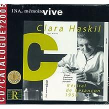 Récital de Besançon, 7 septembre 1956 (cd catalogue 2005)