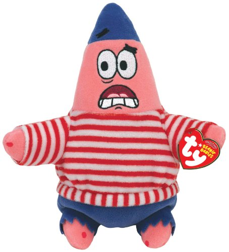 ty-peluche-beanie-babies-bob-esponja-mate-patrick-primera-20-cm-codigo-40771