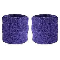 Disponibile in 17colori diversi-Fascia da polso sono ideali per eventi sportivi. Il lavoro cinturini per prevenire sudore sul suo gioco. Essi hanno anche un aspetto molto elegante e sono comodi da indossare. Il sudore polsini sono realizza...