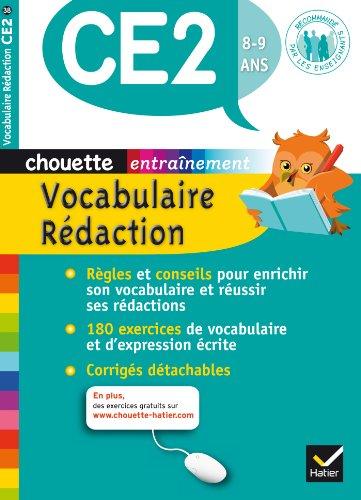 Vocabulaire-Rdaction CE2