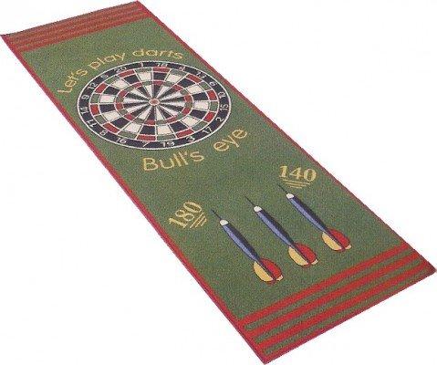 *Dart Teppich mit offiziellem Spielabstand 79x237cm*