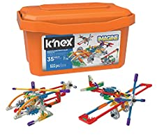 K'NEX 18025 Imagine, Click & Construct Value Building Set, 35 Models, Engineering Educational Toy, 522 Pieces