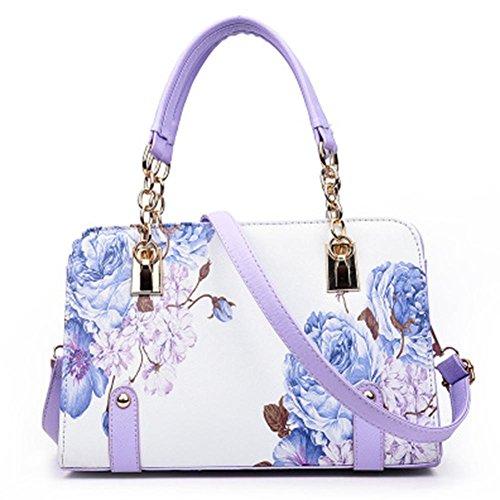 GBT 2016 Neue Dame-Handtaschen-Art- und Weiseschulter-Beutel Purple