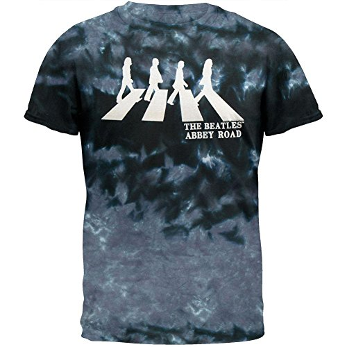Beatles - Abbey Road Tie Dye T-Shirt-groß (Beatles-tie-dye-t-shirt)