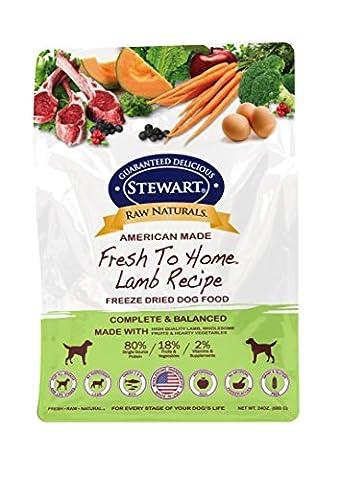 Gimborn Stewarts Foods-Raw Naturals Freeze Dried Dog Food- Lamb 24 Ounce