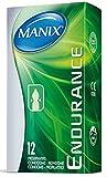 MANIX - Prservatifs ENDURANCE -1 x 12 -