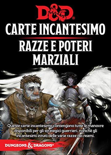 Asmodee Italia- Dungeons & Dragons 5a Edición Mapa Incantesimo Razas y Poderes Marciales, Color, 4011