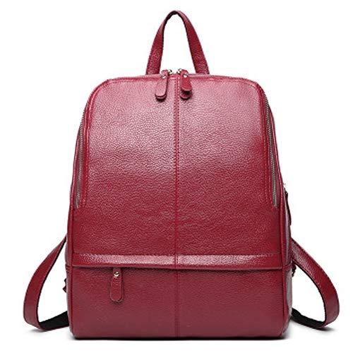 Yoome Classic Zaino grande capacità Zaino multi-funzione Travelpack School Bookbag Bga Hnadbag per donna rosso