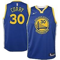 Nike Camiseta de Niños Golden State Warriors 2017-2018 Stephen Curry Icon Edition
