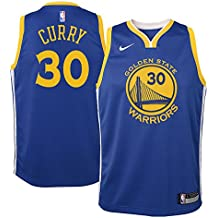 Nike NBA Golden State Warriors Stephen Curry SC30 2017 2018 Icon Edition Jersey Oficial Away,