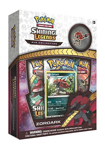 Pokémon POC513 leuchtende Legenden Pin Box: Zoroark (Booster Pack Box)