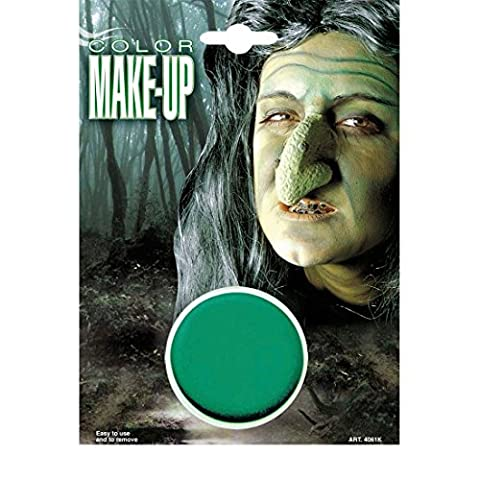 Hexe Make Up Karneval Schminke grün Makeup Alien Theaterschminke Farbe