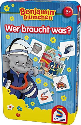 Benjamin The Elephant 51408-Benjamin Blümchen, blau ()