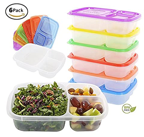 Quantum Produkt Bento Lunch Box Containers (Single Use Container)