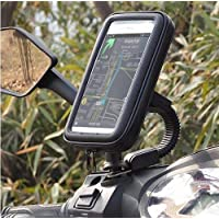 Activa Bike Mobile Stand and Mount Bike Mobile Holder with Multi Rotational Adjustable Angles - (Black)