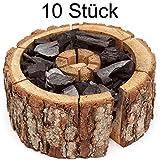 Verico Einweggrill Einmal Holzkohle Grill Eco Größe M 16-20 cm