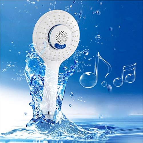 Duschkopf Handbrause Kreative Badezimmer Oem Musik Telefon Audio Bluetooth Sprayer Einstellbar Einfach Zu Installieren Ultra Dünn Und Langlebig Geeignet Für Alle Badezimmer Oem Audio
