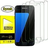 [3 Stück]Panzerglas Displayschutzfolie für Samsung galaxy S7 ,OBYOBY Anti-Kratzen, Anti-Öl, Anti-Bläschen, lebenslange Garantie (0,3mm HD Ultra transparent)