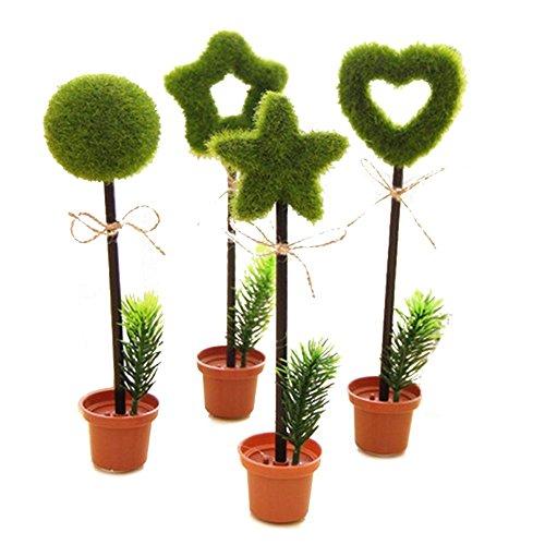 te Kühle Topf Blume Pflanze Form Personalisierte Werbe Kugelschreiber Feder Büro Schule Bedarf Studenten Kinder Geschenk ()