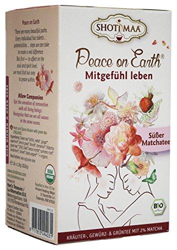 Shoti Maa Bio PEACE ON EARTH Mitgefühl leben - Süßer Matcha (1 x 16 gr)