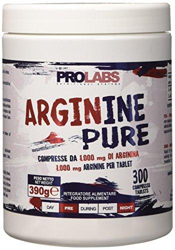 Prolabs Arginine Pure 1000, 300 Compresse 1 gr